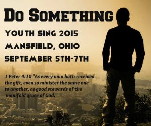 Mansfield Youth Sing Poster 2015