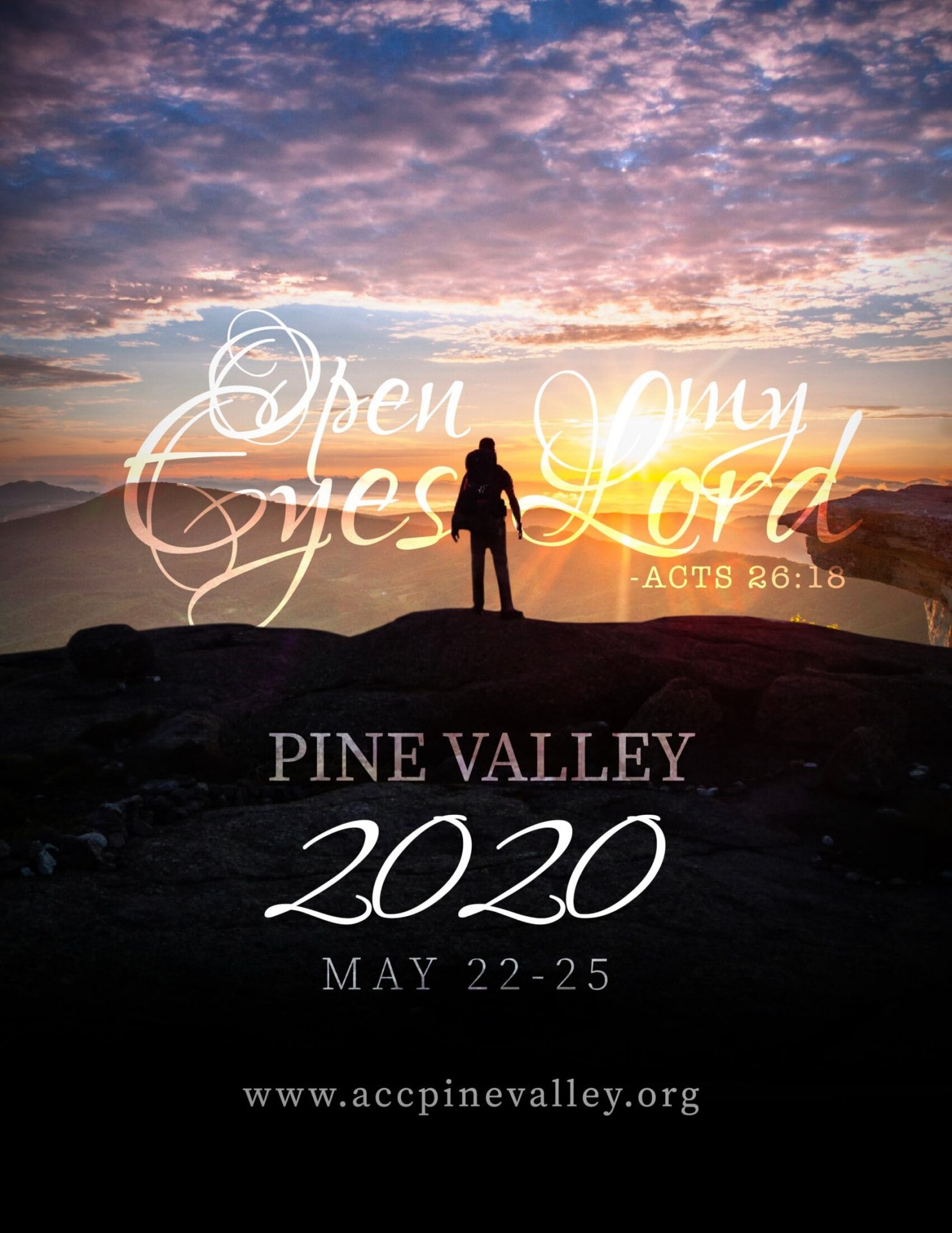 Pine Valley Retreat - May 22-25, 2020 - ACC Foundation
